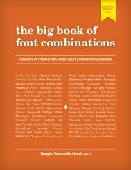 the big book of font combinations - Amazon Web Services