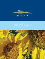 Brand Usage Guide - Palliser Economic Partnership