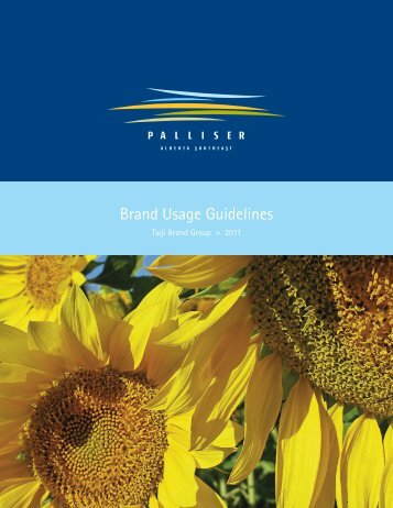 Brand Usage Guide - Palliser Economic Partnership