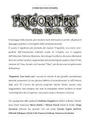 COMUNICATO STAMPA definitivo.pdf - Blogosfere