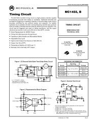 MC1455, B Timing Circuit - Rose-Hulman