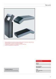 280 x 230 x 110mm Rose Standard Alu-Gehäuse IP66 grau