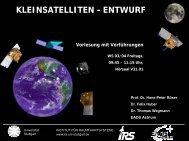 PDF, 5.9 MBytes - Institut für Raumfahrtsysteme - Universität Stuttgart