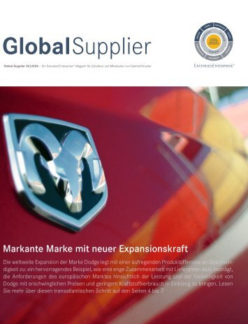 Global Supplier - Daimler