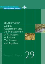 Source Water Quality assessment and the management of