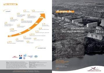 L'extension des villes en Anjou - CAUE