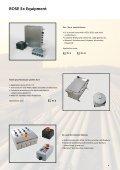 Ex-EQUIPMENT - Rose Systemtechnik GmbH - Page 5