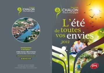 Renseignements & inscriptions : - Chalon