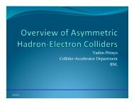 Overview of Asymmetric Hadron-Electron Colliders