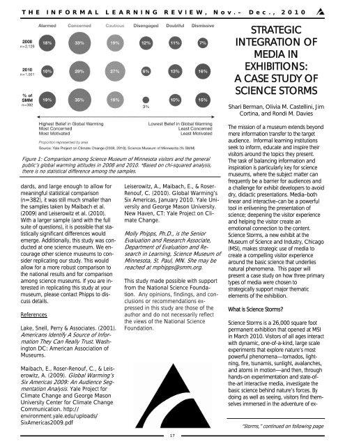 strategic integration of media in exhibitions - Evidence Design