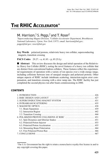 review article - Department of Physics and Astronomy