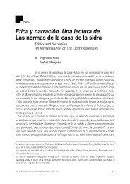 Ética y narración. Una lectura de Las normas de la casa de la sidra