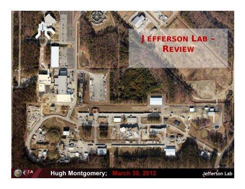 Report of the JSA President / Jefferson Lab Director