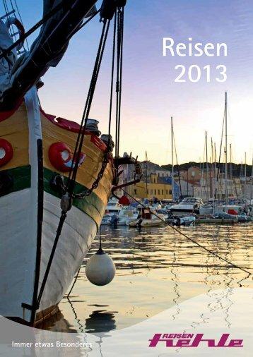 Katalog 2013 (PDF) - Hehle Reisen