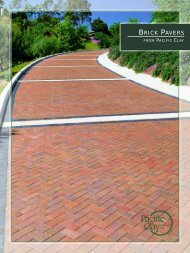 brick pavers pacific clay - Thompson Building Materials