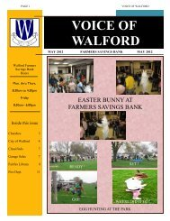 voice of walford - Central State Bank