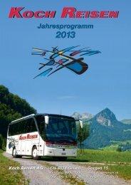 Jahresprogramm Jahresprogramm - Koch Reisen AG
