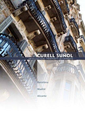 Curell Suñol, downloadable brochure