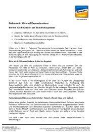 Zielpunkt in Wien auf Expansionskurs: Bereits 138 Filialen