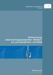 Schirmung elektromagnetischer Wellen im persönlichen Umfeld (pdf