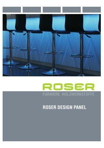 roser DesiGn PAnel - firma-web.ch
