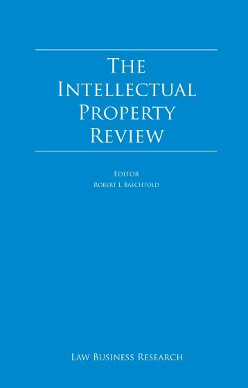 The Intellectual Property Review - Di Blasi, Parente & Associados