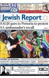 hobbies & recreation supplement - South African Jewish Report