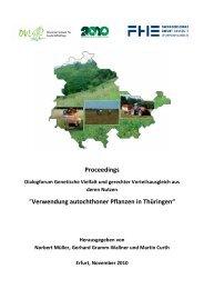 Proceedings - Fachhochschule Erfurt
