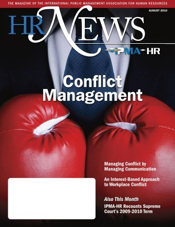 Conflict Management Coaching - IPMA