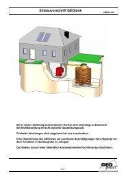 Einbauvorschrift GEOtank