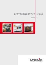 FESTBRENNSTOFF HERDE