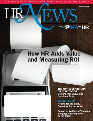 How HR Adds Value and Measuring ROI - IPMA