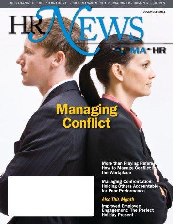 Managing Conflict - IPMA
