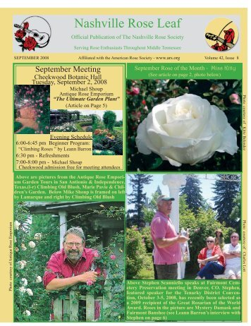 September - Nashville Rose Society