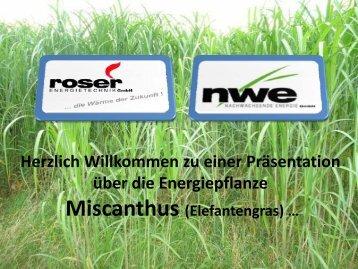 Roser - Miscanthus als Energie der Zukunft (Achtung 7