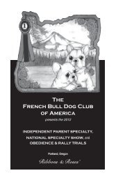 'Ribbons & Roses' - Specialty Dog Shows
