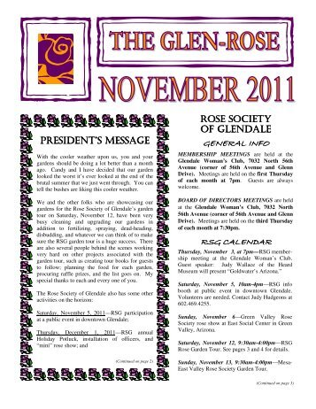 November 2011 rose newsletter.pub - Rose Society of Glendale