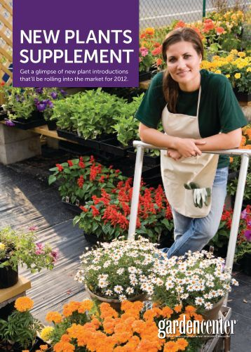 NEW PLANTS SUPPLEMENT - Garden Center Magazine