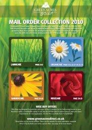 MAIL ORDER COLLECTION 2010 - GardenForum Horticulture