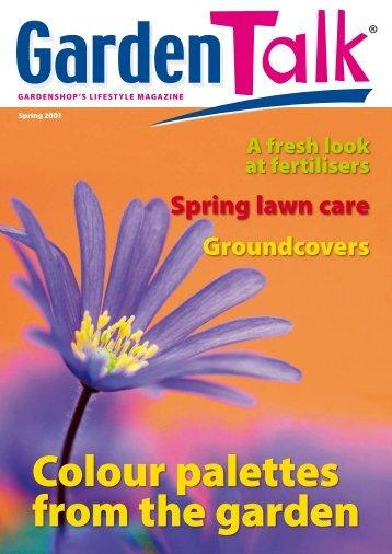 Spring lawn care - Garden Shop