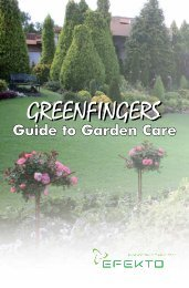 Download the Guide to Garden Care - Efekto