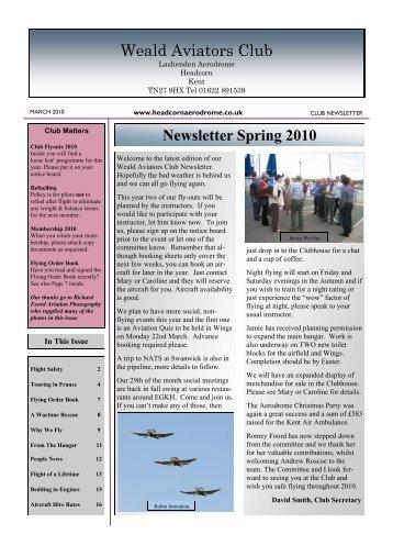 Weald Aviators Club - Headcorn Aerodrome