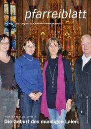Pfarreiblatt 15/2012 - Katholische Kirchgemeinde Kriens