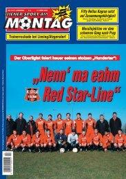 Der Oberligist feiert heuer seinen stolzen ... - SC Red Star Penzing