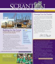 Journal Extra FINAL.indd - The University of Scranton