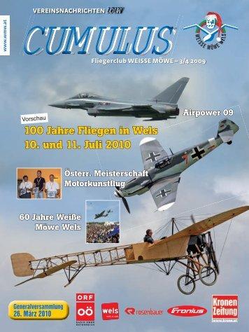 100 Jahre Fliegen in Wels 10. und 11. Juli 2010 - Fliegerclub Weiße ...