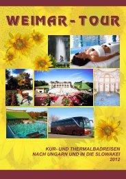 Katalog 2012 - Weimar-Tour GmbH