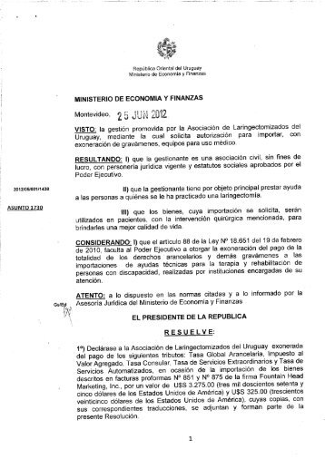 CPY Document - archivo de Presidencia