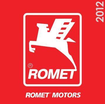 Katalog Romet Motors 2012