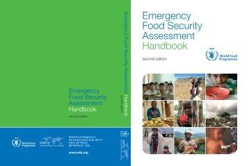 Emergency Food Security Assessment Handbook - WFP Remote ...